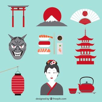Elementos da cultura japonesa