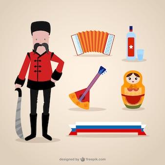 Elementos da cultura russas