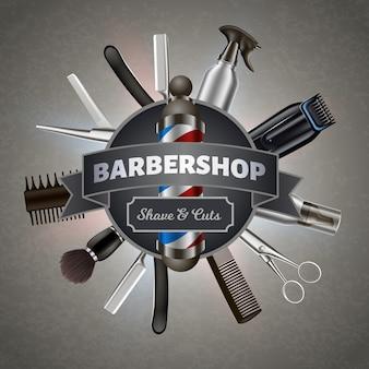 Elementos de barbearia