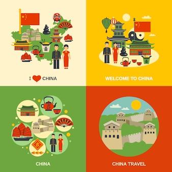 Elementos de cultura da china
