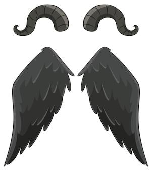 Elementos de design de demônios e anjos