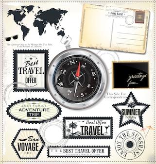 Elementos de design de viagens