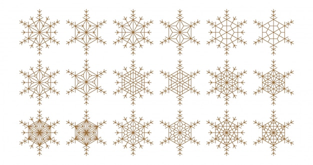 Elementos de design geométrico baseados em ornamento japonês kumiko.