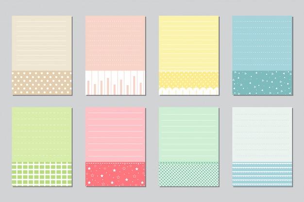 Elementos de design para notebook