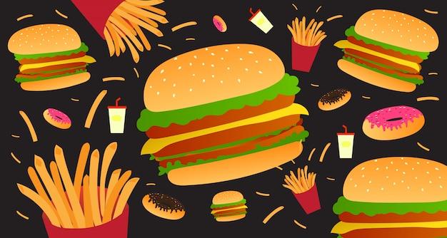 Elementos de fast food