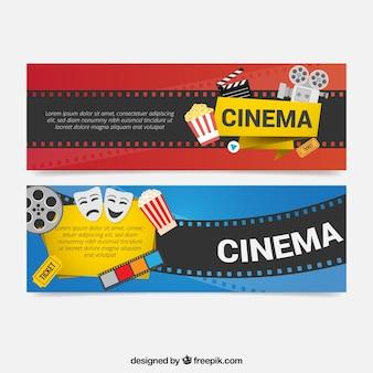 Elementos de filmes banners