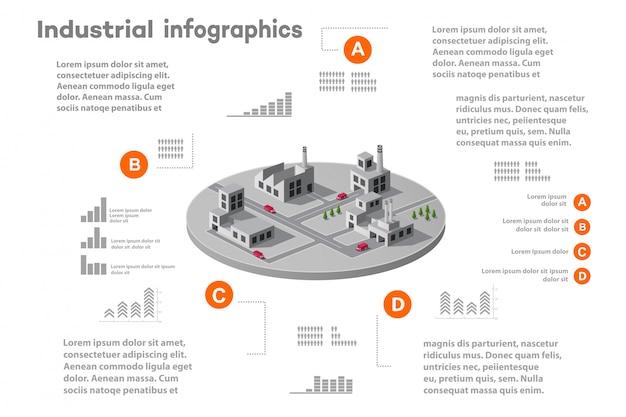 Elementos de infográfico para apresentação