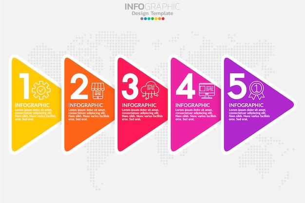 Elementos de infográfico para conteúdo, diagrama, fluxograma, etapas, peças, linha do tempo, fluxo de trabalho, gráfico.