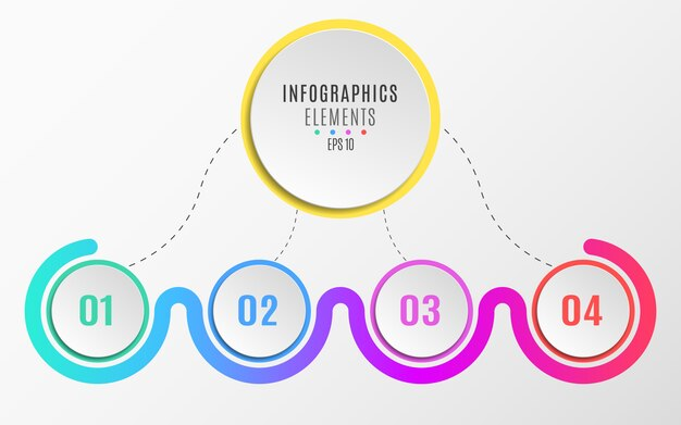 Elementos de infográficos.