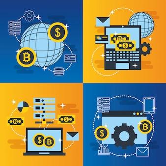 Elementos de negócios da fintech