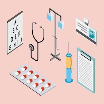 Elementos de saúde médica
