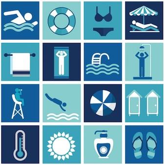 Elementos de verão