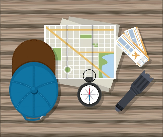 Elementos de viagem e turismo
