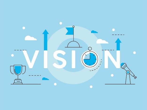 Elementos de visão de negócios