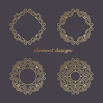 Elementos do logotipo.