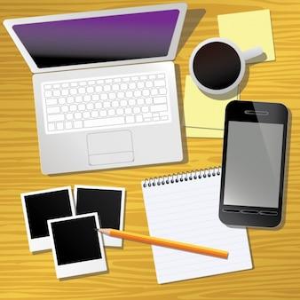 Elementos escritório de design