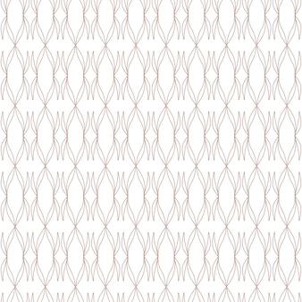 Elementos gráficos abstratos de padrão geométrico sem emenda fundo branco ilustração vetorial