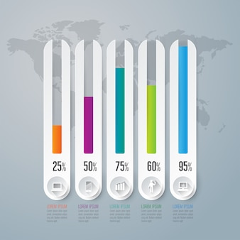 Elementos gráficos para a apresentação
