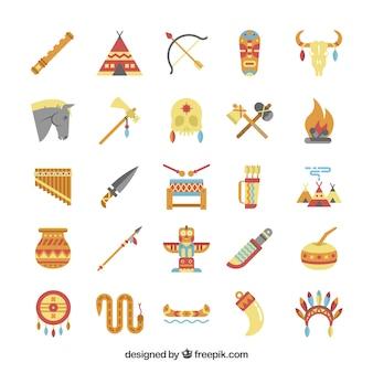 Elementos indígenas americanas