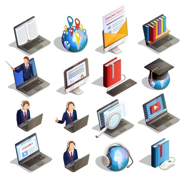 Elementos isométricos de e-learning