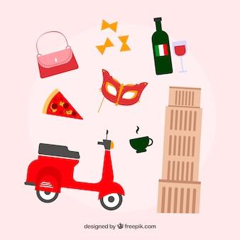 Elementos italianos tradicionais