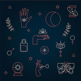 Elementos místicos esotéricos