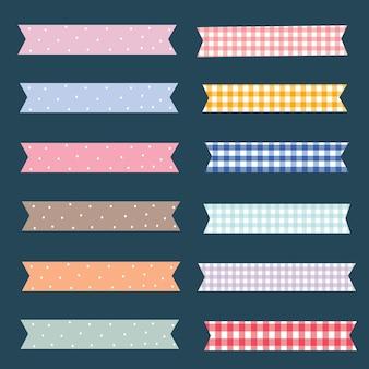 Elementos padrão de fita