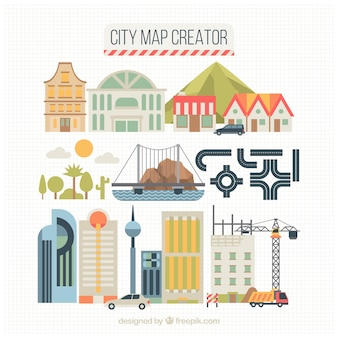 Elementos para criar cidades