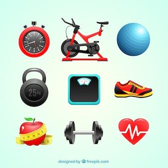 Elementos para exercício físico