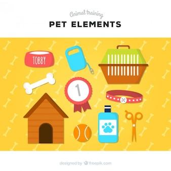 Elementos para seu animal de estimação