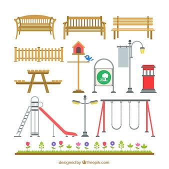 Elementos parque