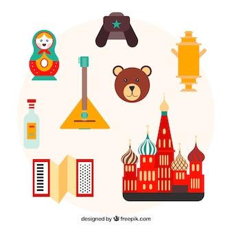 Elementos russos tradicionais