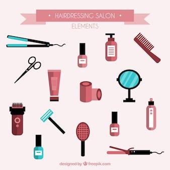 Elementos salão de cabeleireiro definir