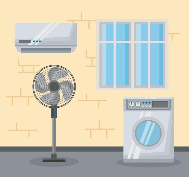 Eletrodomésticos definem cena de ícones