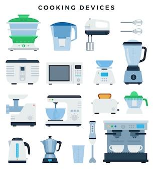 Eletrodomésticos e eletrônicos de cozinha