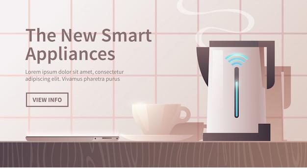Eletrodomésticos inteligentes.