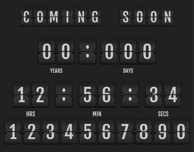 Em breve banner mostrando quanto tempo resta