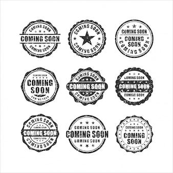 Em breve coleção stamps design