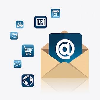 Email marketing design.