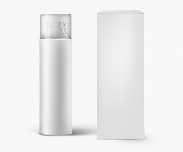 Embalagem cosmética alta realista e altamente detalhada