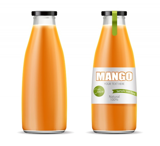 Embalagem de suco de manga
