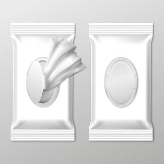 Embalagem de toalhetes húmidos
