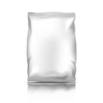 Embalagem plástica de lanche