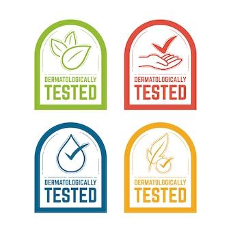 Embalagem testada dermatologicamente