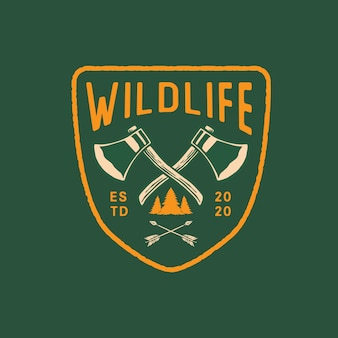 Emblema da vida selvagem