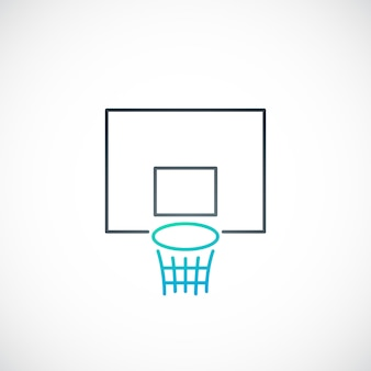 Emblema de basquete