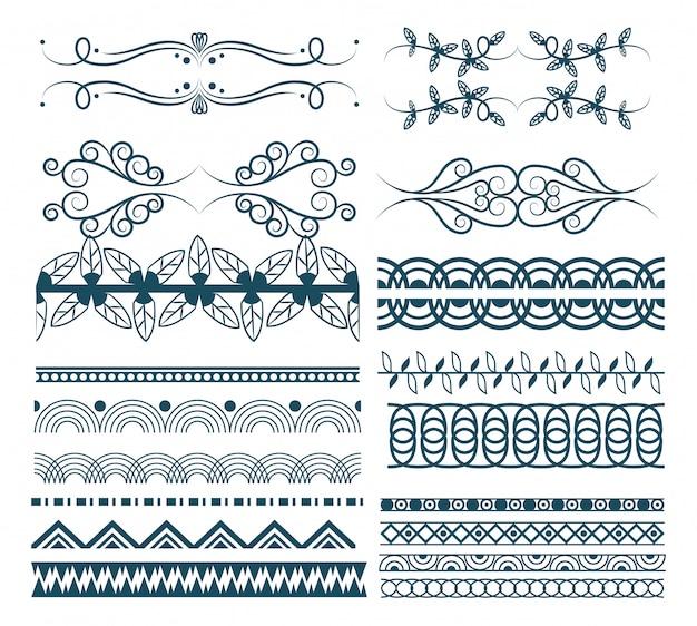 Emblema de emblemas de fita decorativa