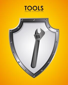 Emblema de ferramentas