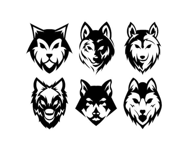 Emblema de parafuso de lobo