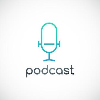 Emblema de podcast